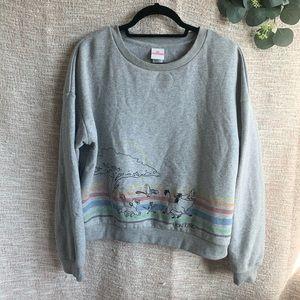 [Disney] Lion King Cropped Sweatshirt